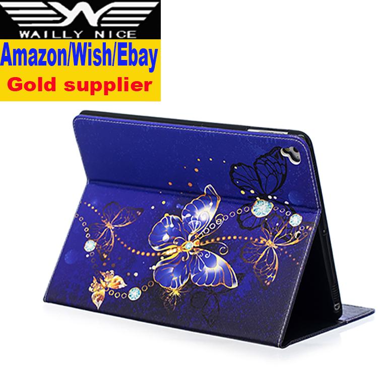 Ipad のケース耐衝撃蝶 ipad ケース 5 6 7 8 工場卸売価格 ipad ケースタブレット
