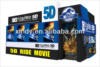 3D 4D 5D 6D 7D 9D cinema theater movie motion seat on 5D cinema platform