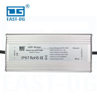EAST DG supplier waterproof ip67 100w led driver 36v three years warranty