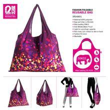 Nylon Net Shopping Bags Zipper Nylon Tote Bag