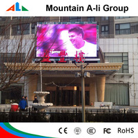 Outdoor Full Color P10 Led Display Video Sign