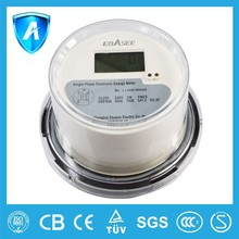 Single-phase Three-wire Round Socket Watt hour Meter
