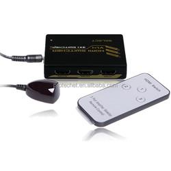 1.4 Version 3 Way HDMI switch + IR Wireless Remote for HDTV Wii U PS3 DVD