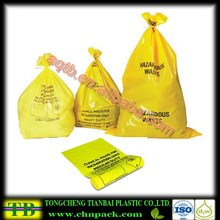 Yellow Chemo Waste Handling infectious yellow garbage bag