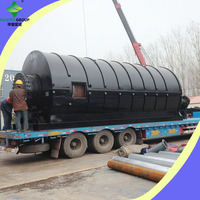High Profit Waste Tire Disposal Oil Machine With R&D Department