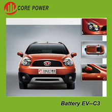 Eco friendly 5 seats green adult electric car battery plug in electric cars vehicle automobile