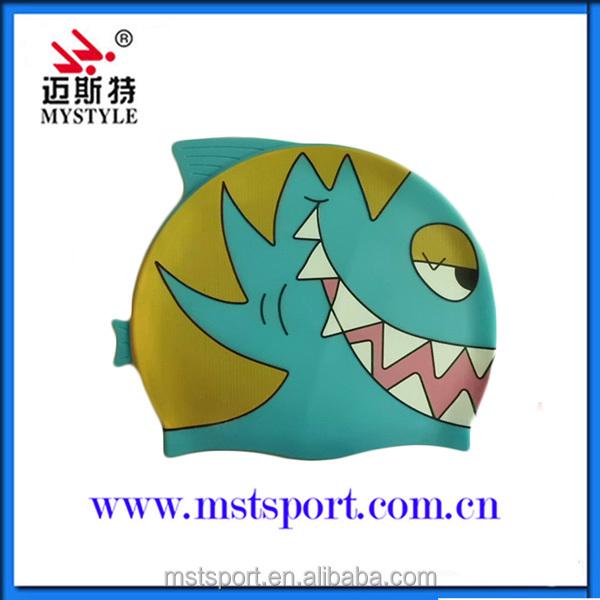 2015 professional custom factory silicone swimming cap