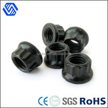 Low price carbon 12 point flange nut/flange bolts and nuts