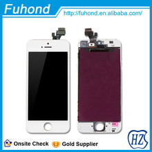 high quality for white/black iphone 5 lcd screen