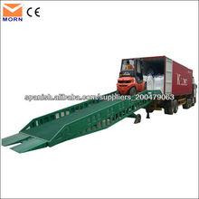 10t rampas de carga de contenedores móviles