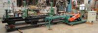 electric circular sawmill log cutting circular saw with carriage woodworking tool