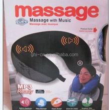 2014 Newest Musical Massager pillow ( GHI zhu 40007)