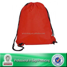 Custom Cheap Polyester Waterproof Recycle Promotional Grommets Drawstring Bag, Laundry Bag, Backpack Bag