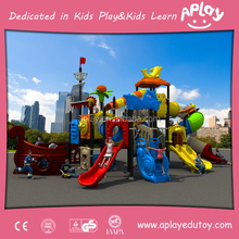 You got what you pay for kids outdoor fitness playset garden slides spinning playground equipment