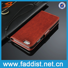 Hot selling pu case for iphone 6, Professional mobile phone case for iphone 6, fmzj wallet case for iphone 6