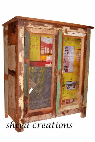 Recuperado de móveis de madeira