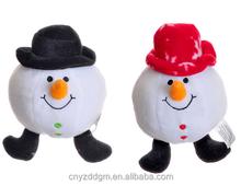 snow ball emoji plush doll/snow ball expression toy/stuffed snow ball toy for kids