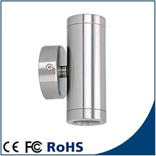 LY1003A, top quality, up/down wall pillar spot light, stainless steel Led wall light 6w