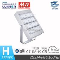 160W led flood light with sensor