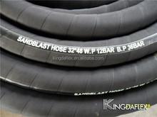 Black Conductive Sandblast Rubber Hose