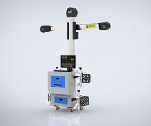 Innovation technology 3D wheel aligner perform alignment in 2 post lift.