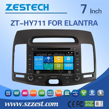 for Hyundai Elantra car dvd navigation with touch screen dvd gps DDR 256 RDS 3G