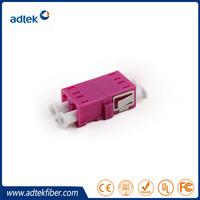 LC/APC Duplex Flangeless SM Fiber Adapter