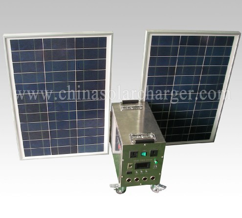 Promotion price with CE, ROHS Portable 80W mini projects solar power systems