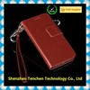 Wholesale leather wallet case for iPhone 6
