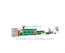 Plasti extrusion recycling line/extruder machine