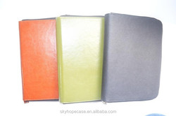 For iPad case, for iPad mini silk skin tablet leather case, for iPad PU case