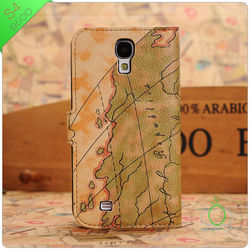 for samsung s4 flip leather cover