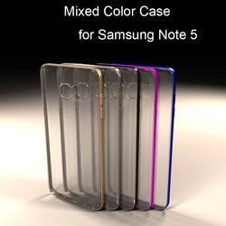 Coming Soon! Mix Color TPU case for Samsung Note 5, soft TPU case for galaxy note5