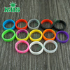 Top selling products 2015 e cig mods custom silicone rings colorful decoration silicone rings for drip tanks vape