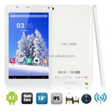 CUBE U51GT C4/TALK 7X MTK8382 Quad Core 1GB/8GB 7.0 inch IPS Sceen Dual SIM Card Dual Standby Dual Camera GSM WCDMA