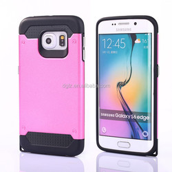 2015 china wholesale! custom mobile phone hard cover case for samsung galaxy s6 edge