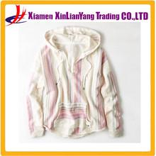 Baja Hoodie cotton blend polka dot jersey casual hoody