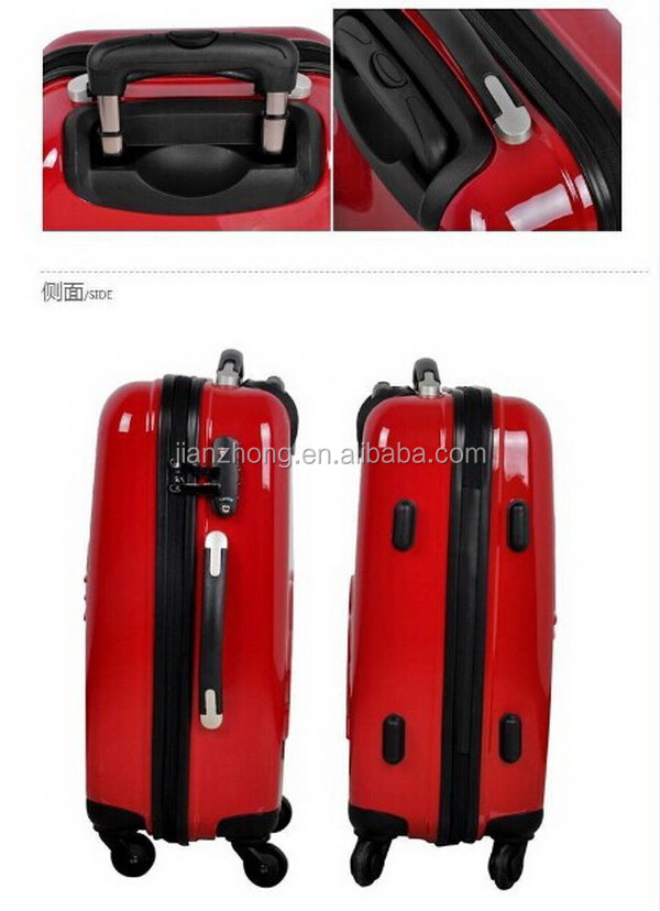 PCABS luggage 18 PC zipper(xjt)03