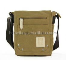 Men canvas satchel bags, mens small canvas shoulder bag