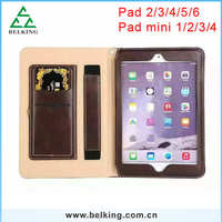 For Ipad Mini 4 Hand Strap Leather Case, Stand Leather Case For Ipad Mini 1 2 3 4 Case With Card Slot