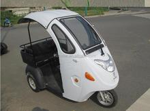 disegno piacevole taxi bicicletta con piccoli cargo box