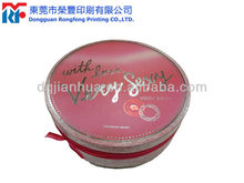 Luxury Black Dot Round Shape Gift Paper Box