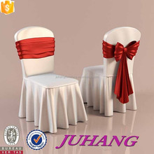 fold handmade elastic chair cover,ruffled chair cover