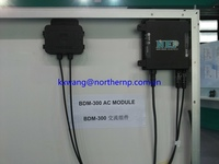 300W 22-55VDC grid tie micro inverter with communication function and waterproof IP67 for 300W solar panel