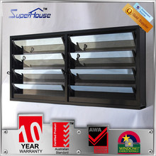 electric glass window shutter/outdoor vertical house shutters with security mesh