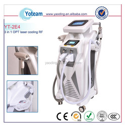 2015 Multi-functional Elight IPL RF Laser beauty equipment with CE Approval