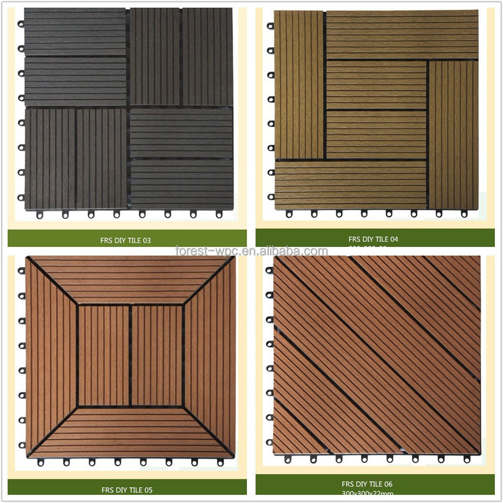 Outdoor Waterproof Flooring Waterproof Balcony Flooring