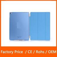 Multi Color Fasion Design Smart Cover Case + PC Matte Back Protector Hard Case for iPad Mini 123