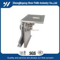 thin PV aluminum metal roof clamp for solar panel mounting