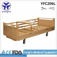 YFC206L Health Care Nursing Home Beds wooden hospital bed